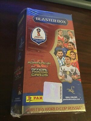 Panini FIFA Russia 2018 Blaster Box Adrenalyn XL 5 x limited edition + 7 packs