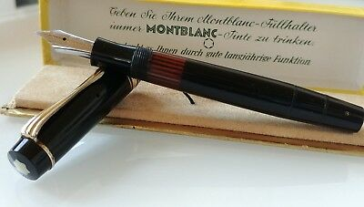 Montblanc Meisterstuck 136 Fountain pen WWII Kriegsmodell 1940's Celluloide
