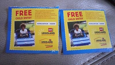 2 free child entry to legoland windsor with full paying adult