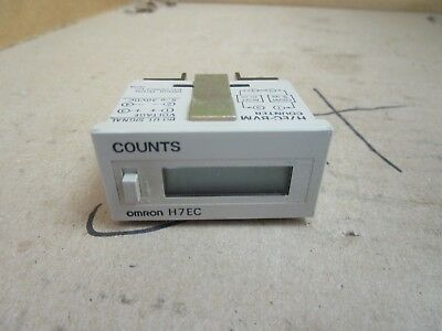 Omron Counter H7EC-BVM H7ECBVM 30 VDC Used