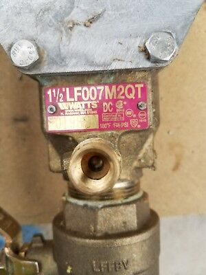 Watts 1 1/2in Double Check Valve Assembly - Lead Free