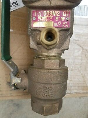 Watts 1 1/2in Double Check Valve Assembly
