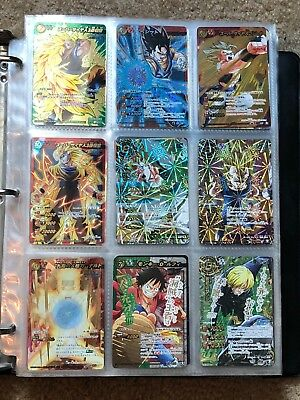 Collection of Miracle Battle Carddass (Dragon Ball, One Piece, Naruto)