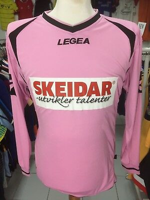 Trikot Follo FK (L)#19 Ghansah Legea Rosa Pink Norwegen Shirt Norway Jersey