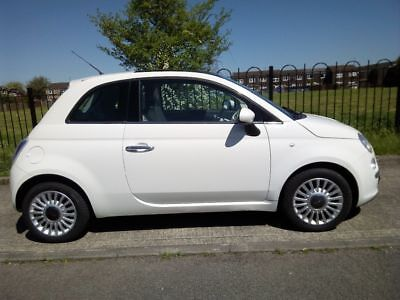 2009 Fiat 500 Lounge £30 a year tax, No Reserve