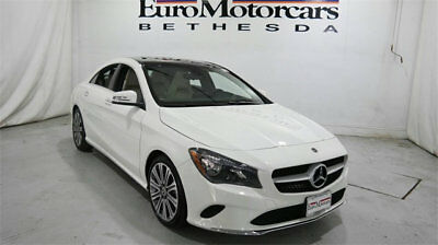 Mercedes-Benz CLA CLA 250 Coupe mercedes benz cla250 cla 4matic awd white 17 18 used navigation blind spot coupe