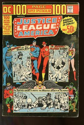 Dc 100 Page Super Spectacular #17 Very Good Justice League Of America 1973