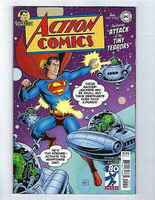 Action Comics # 1000 Variant 1950's Cover NM DC