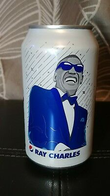 Ray Charles Pepsi can limited edition music generation 2018