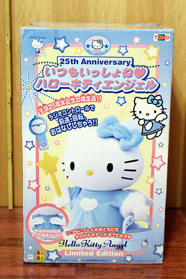 HELLO KITTY 25th Anniversary FIGUR FERNGEST. ROBOTER ~60cm JAPAN SANRIO ORIGINAL