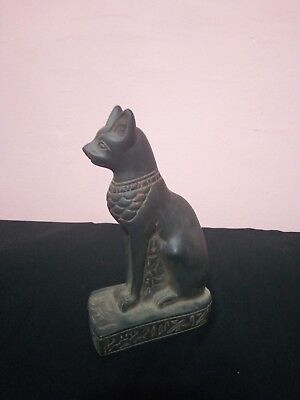 ANCIENT EGYPTIAN STATUE OF CAT Goddess Bastet 945–715 Bc