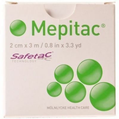 "Mepitac Tape 0.8"" x 3.3yd (each), Molnlycke 298300"