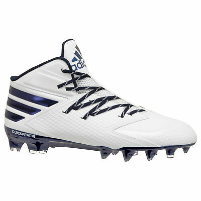 the latest f63ad a6c5b NEW - Adidas Freak X Carbon Mid Mens Football Cleats - White  Navy Blue -