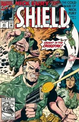 Nick Fury: Agent of SHIELD (1989 series) #41 in Near Mint + condition