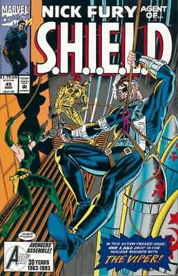 Nick Fury: Agent of SHIELD (1989 series) #45 in Near Mint + condition