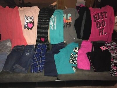 Girls Lot of Clothing size 14/16! Excellent Condition. Justice, Nike, and More!