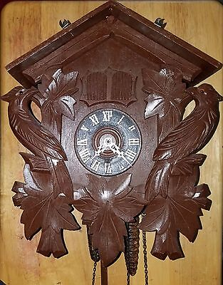 Bachmaier & Klemmer Black Forest Musical Cuckoo Clock -Works-