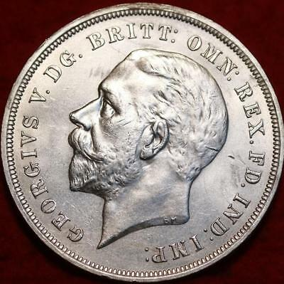 1935 Great Britain Crown Silver Foreign Coin