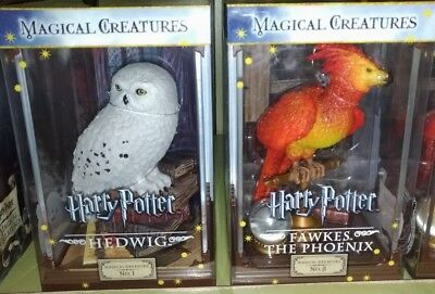 Harry Potter Hedwig And Fawkes The Phoenix Magical Creatures Figure
