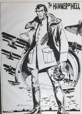 Cover Recreation - Enemy Ace -Star Spangled War Stories 150 - Joe Kubert Tribute