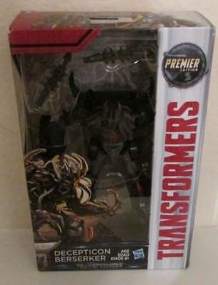 Transformers Premier Edition The Last Knight Decepticon Berserker FREE SHIPPING