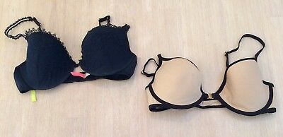 SASS AND BIDE x 2 Bras Both Size 14D Lightly worn FREE POST!