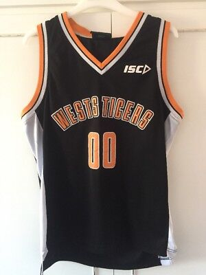 West Tigers Rugby Vest Size Medium Good Condition