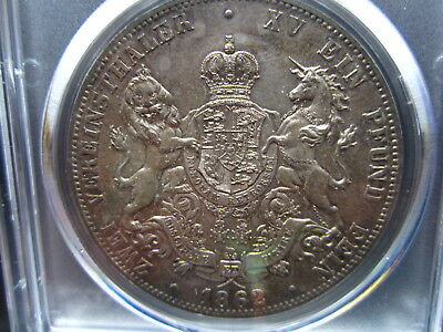 lovely        2 Taler Hannover       PCGS MS63         #A4