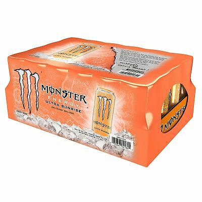 Monster Ultra Sunrise 16 Oz. Cans 24 Ct.