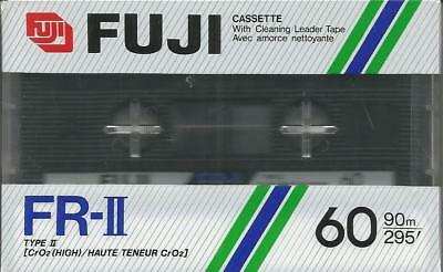 Audiocassette / MC Fuji FR II 60 / Position Chrom II / OVP
