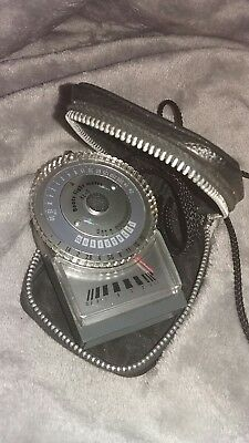 Boots KL 6 Light / Exposure meter with case