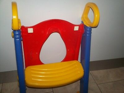 Kids toilet training seat with step Ladder