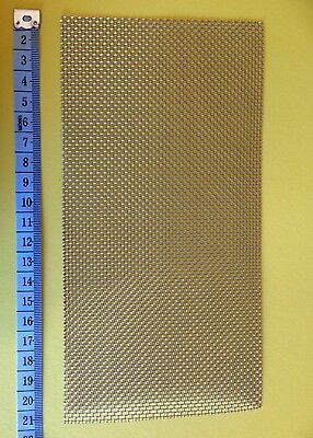 1 pads 20cm x 10cm Beekeeper 316 Stainless Steel Wire Mesh