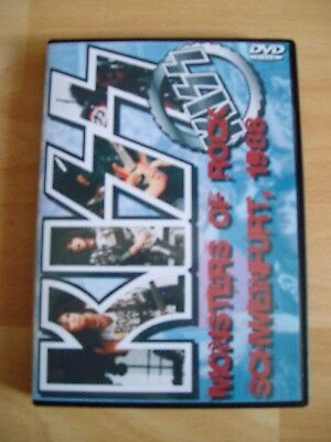 "Kiss Dvd ""monsters Of Rock 1988"" !!!!"