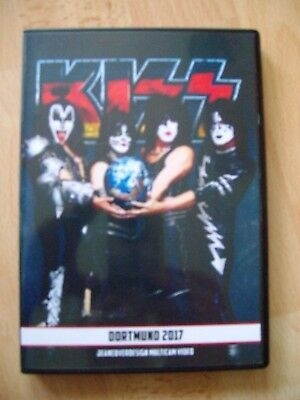 "Kiss Dvd ""dortmund 2017 (Kissworld Tour)"" !!!!"
