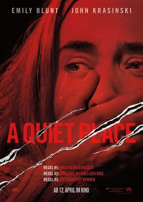 A QUIET PLACE ~ Filmposter A1 ~ Emily Blunt