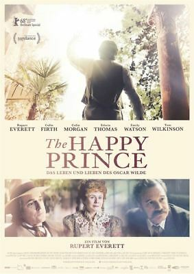 THE HAPPY PRINCE ~ Filmposter A1 ~ Rupert Everett, Colin Firth, Emily Watson