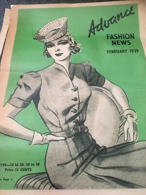 1930's Retro Collectible Sewing Pattern Sign Posters