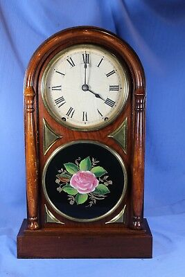 Seth Thomas Early Antique Mantle Clock Original High End, Beautiful Runs Great!