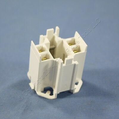 Leviton Snap-In Compact Fluorescent Lamp Holder Light Socket G24q-3 26725-429