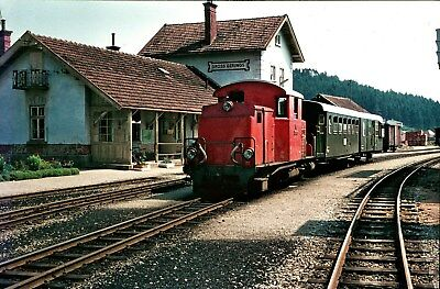 Traumpics: orig. Dia: ÖBB 2099 Gross Gerungs 17.7.1972