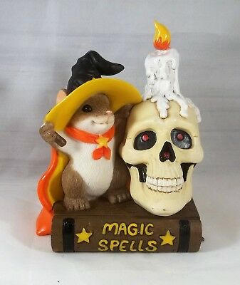 Enesco You're Delightfully Frightfully Magic Figurine Charming Tails Halloween