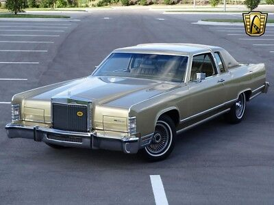 1979 Lincoln Continental Town Coupe 1979 Lincoln Continental Town Coupe