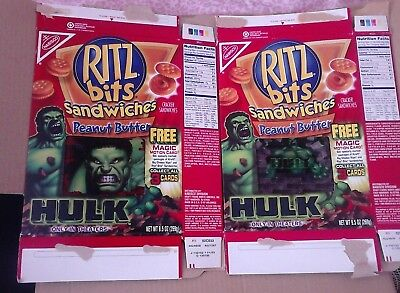 The Hulk  Motion Cards From Ritz (Usa)