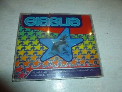 ERASURE - Breath Of Life - 1992 UK 5-track CD single