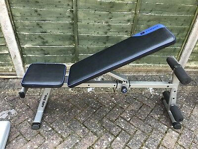 Domyos Abs 500 Bench With Bars And Weights