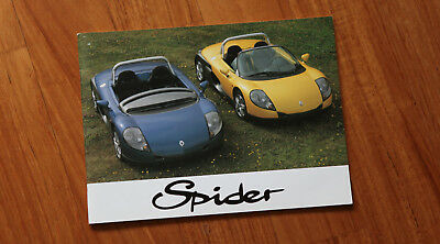 RENAULT Sport Spider Manual DEUTSCH
