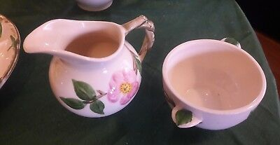 Franciscan desert rose usa serving pieces excellent
