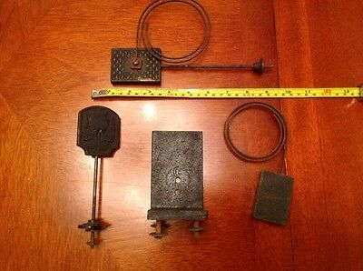 Antique Clock Parts Spares Chimes Gongs