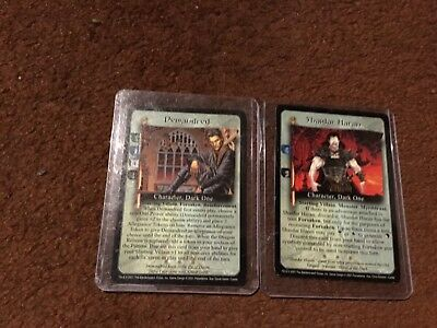 Wheel of Time CCG - cycles set - all four cards